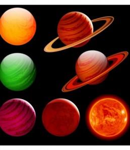 دانلود وکتور سیاره,