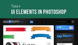 دانلود آموزش طراحی عناصر گرافیکی وب در فتوشاپ