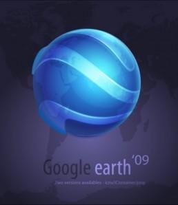 دانلود وکتور گوگل ارث