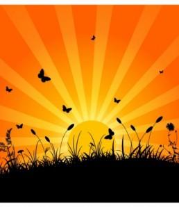 دانلود چشم انداز غروب آفتاب