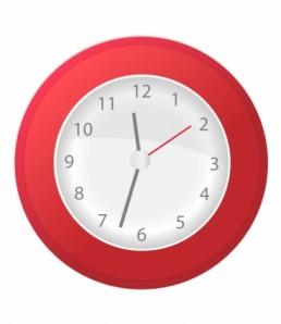 red_clock_illustration_6813585